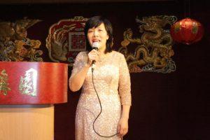 【1】。欧洲华人华侨妇女联合总会熊国秀致辞代表欧华妇联向欧洲华人华侨妇女致以节日祝贺。