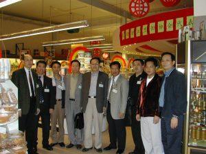 欢迎浙江烹饪协会代表团访问荷兰