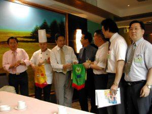 荷兰中餐业代表团访问北京