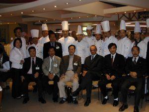 荷兰中餐业代表队部分成员合影